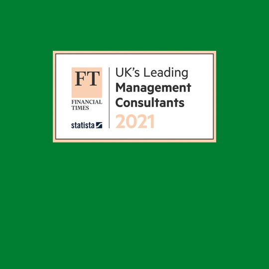 Baringa wins 14 medals in FT UK's Leading Management Consultants 2021 awards