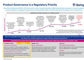 Product Governance is a Regulatory Priority